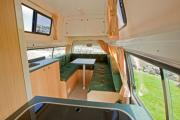 Compass Campers New Zealand Koru 2ST campervan rental new zealand