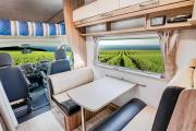 Let's Go Motorhomes AU Conquest Royale - Luxury 4 Berth Motorhome campervan hire australia