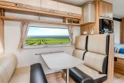 Let's Go Motorhomes AU Conquest Royale - Luxury 4 Berth Motorhome campervan rental perth