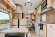 Let's Go Motorhomes AU Conquest Royale - Luxury 4 Berth Motorhome campervan hire sydney