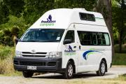 Freedom Campers NZ Hi Top 4+1 Family Path Finder new zealand airport campervan hire
