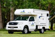 Tui Campers NZ Bush Camper 2 berth new zealand airport campervan hire