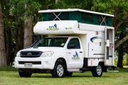 Tui Campers NZ Bush Camper 2 berth campervan hire wellington