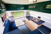 Tui Campers NZ Bush Camper 2 berth campervan hire christchurch