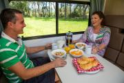 Britz Campervan Rentals NZ (Domestic) 6 Berth - Vista motorhome rental new zealand