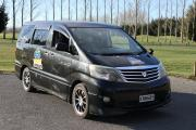 Black Sheep new zealand airport campervan hire