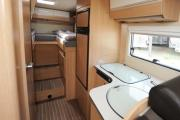 Pure Motorhomes Spain Family Standard Sunlight T67 or similar campervan rental spain
