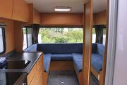 Kiwi Autohomes Motorhome Rental Concord 4 Berth Deluxe campervan rental new zealand