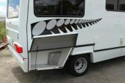 Concord 4 Berth Deluxe campervan hire - new zealand