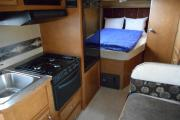 Best Time RV Class C Winnebago Minnie Winnie E-23 cheap motorhome rental las vegas