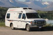 Westcoast Mountain Campers (DVC) Deluxe Van Conversion motorhome rental canada
