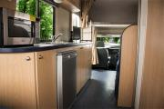 RV Shop 6 Berth Self Contained motorhome rental new zealand
