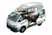 Apollo Motorhomes NZ International Hitop Campervan new zealand camper hire