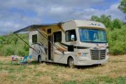 Road Bear RV International 30-32 ft Class A Motorhome with slide out camper rental denver