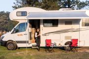 Apollo Motorhomes NZ International 4 Berth Euro Camper new zealand airport campervan hire
