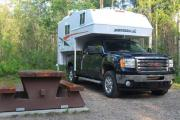 Westcoast Mountain Campers (TCA) Maxi Travel Camper TC-A motorhome rental canada