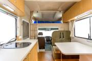 Apollo Motorhomes NZ International 6 Berth Euro Deluxe campervan rental new zealand