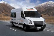 2 Berth Euro Tourer campervan hire - new zealand