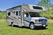 Road Bear RV International 22-24 ft Class C Non-Slide Motorhome rv rental usa