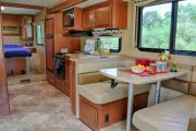 Star Drive RV USA 30-32 ft Class A  Motorhome with slide out rv rental usa