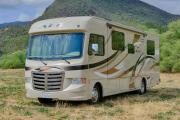 30-32 ft Class A Motorhome with slide out cheap motorhome rentallas vegas