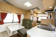 Apollo Motorhomes NZ International 4 Berth Euro Star motorhome rental new zealand