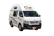 2/4 Berth Endeavour Camper campervan hire - new zealand