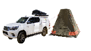 Outback 4WD campervan hirehobart