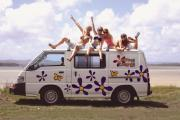 Hippie Camper AU International Hippie Drift campervan hire australia