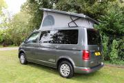 Open Road Scotland  VW Pop Roof motorhome rental uk