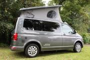 VW Pop Roof motorhome rentalunited kingdom