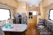 Abuzzy 4 Berth Grand campervan hire - new zealand