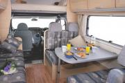 Abuzzy Motorhome Rentals New Zealand Abuzzy 4 Berth Grand campervan hire christchurch
