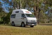 Hippie Camper AU International 2 Berth Hitop campervan hire australia