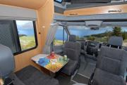 6 Berth SAM campervan hire - new zealand