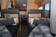 Pacific Horizon Travel Homes 6 Berth SAM new zealand airport campervan hire