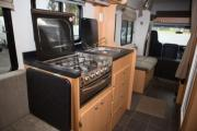 Kiwi Campers NZ 7 Berth Mitsubishi Canter new zealand airport campervan hire