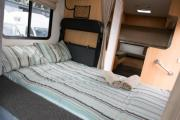Deluxe 7 Berth Mitsubishi Canter campervan hire - new zealand