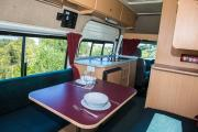 Happy Campers NZ Happy 2 ST new zealand airport campervan hire