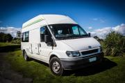 Spaceships Rocket 2 Berth new zealand airport campervan hire
