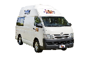 Hippie Camper NZ International Hippie Hitop new zealand airport campervan hire