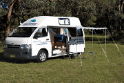 2-3 Berth Economy - The Sturt campervan hire - australia