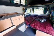 Calypso Campervan Rentals AU 3 Berth Hitop - The Princess campervan hire adelaide