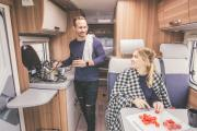 Bunk Campers Aero Plus motorhome rental uk