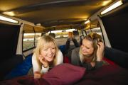Hippie Camper NZ Domestic Hippie Drift new zealand airport campervan hire