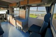 Compass Campers New Zealand Koru 4-Berth campervan hire queenstown