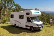 Cheapa Campa AU Domestic 6 Berth Motorhome campervan hire australia
