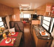 Pandora RV - 4 Berth campervan hire - new zealand