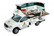 2 Berth Bush Camper campervan hire australia