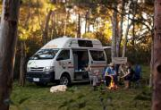 Britz Campervan Rentals 2 Berth - Hitop campervan hire alice springs